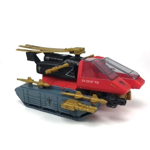 Vintage 1990 Hasbro GI Joe Piranha Long Yellow Missile Vehicle Part