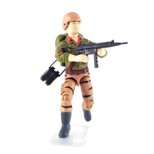 GI Joe g.i Gung-Ho v3 v4 GI Joe v1 RIFLE machine gun Vtg weapon 1992 1993 1994