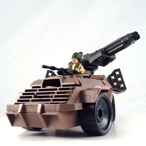 GI Joe 1988 MEAN DOG MISSILE PART G.I