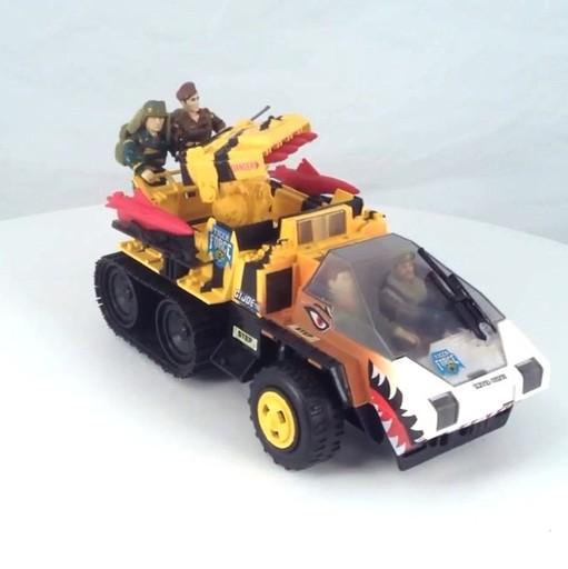 1985 GI JOE Snow Cat-Tiger Cat Steering Wheel V1