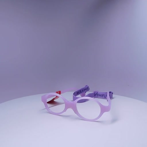 Miraflex Baby Lux with Build Up Bridge Eyeglasses