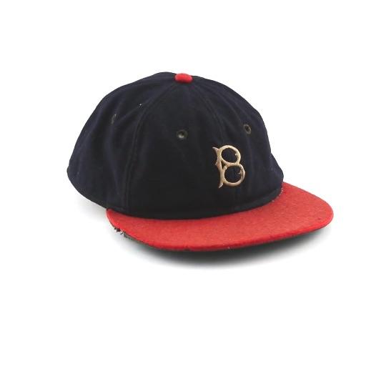 1935 Babe Ruth Final Career Game Worn Boston Braves Cap 2a453dcb659