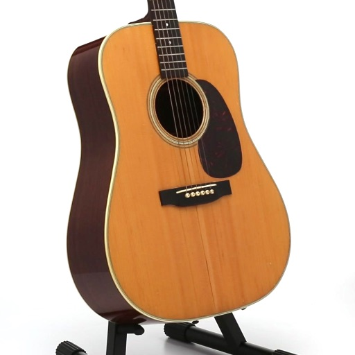 Bob Dylan Owned and Stage-Played 1963 Martin D-28 Acoustic Guitar