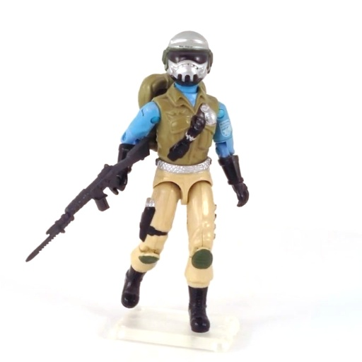 GI Joe Weapon Cobra Techno Viper Backpack 1987 Original Figure Accessory