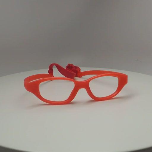Miraflex Eva Eyeglasses. IP Red Pearl