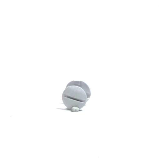 WPW10503549 WHIRLPOOL Dishwasher access panel retainer (white)